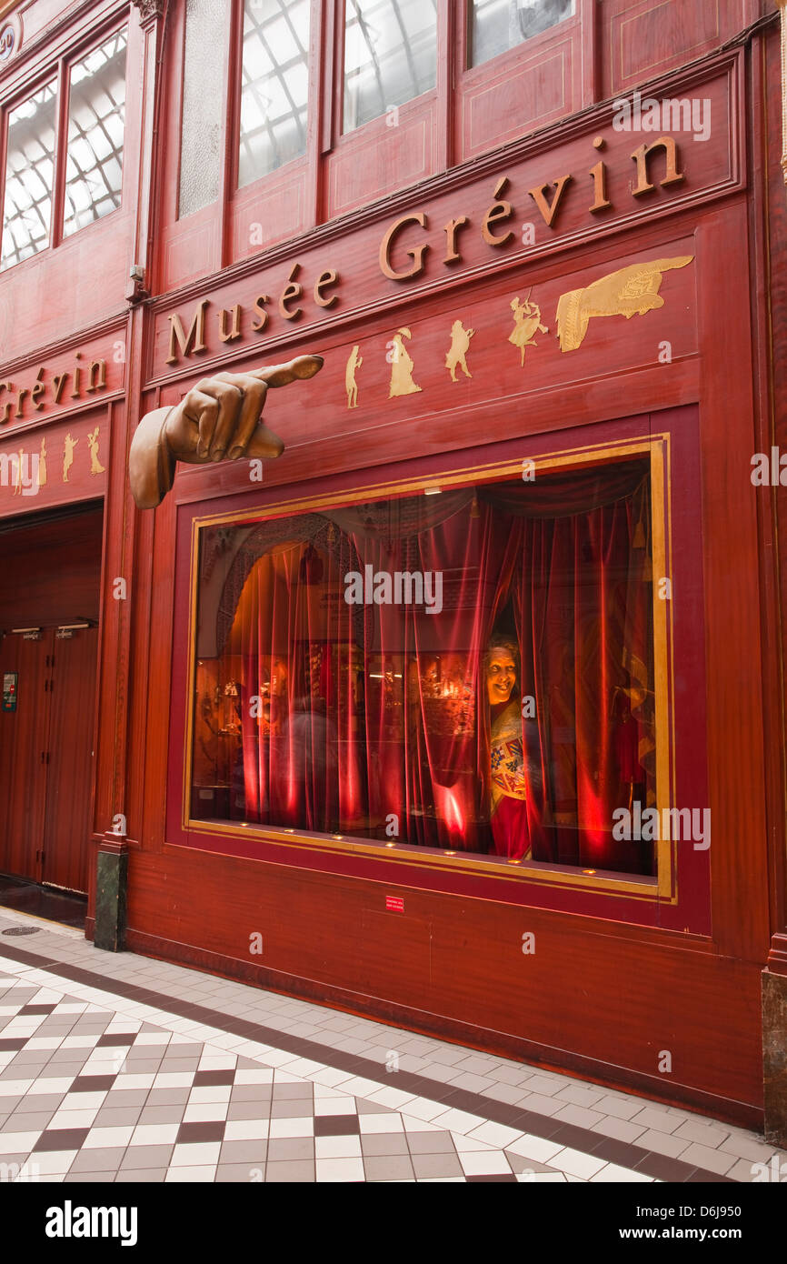 Musee Grevin in Passage Jouffroy, central Paris, France, Europe - Stock Image