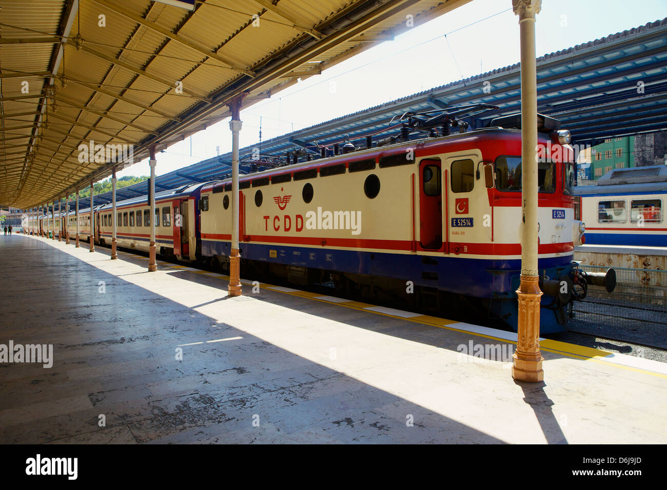 Sirkeci Gar (Central railway) railway station former terminal stop of the Orient Express, Istanbul, Turkey, Europe, - Stock Image