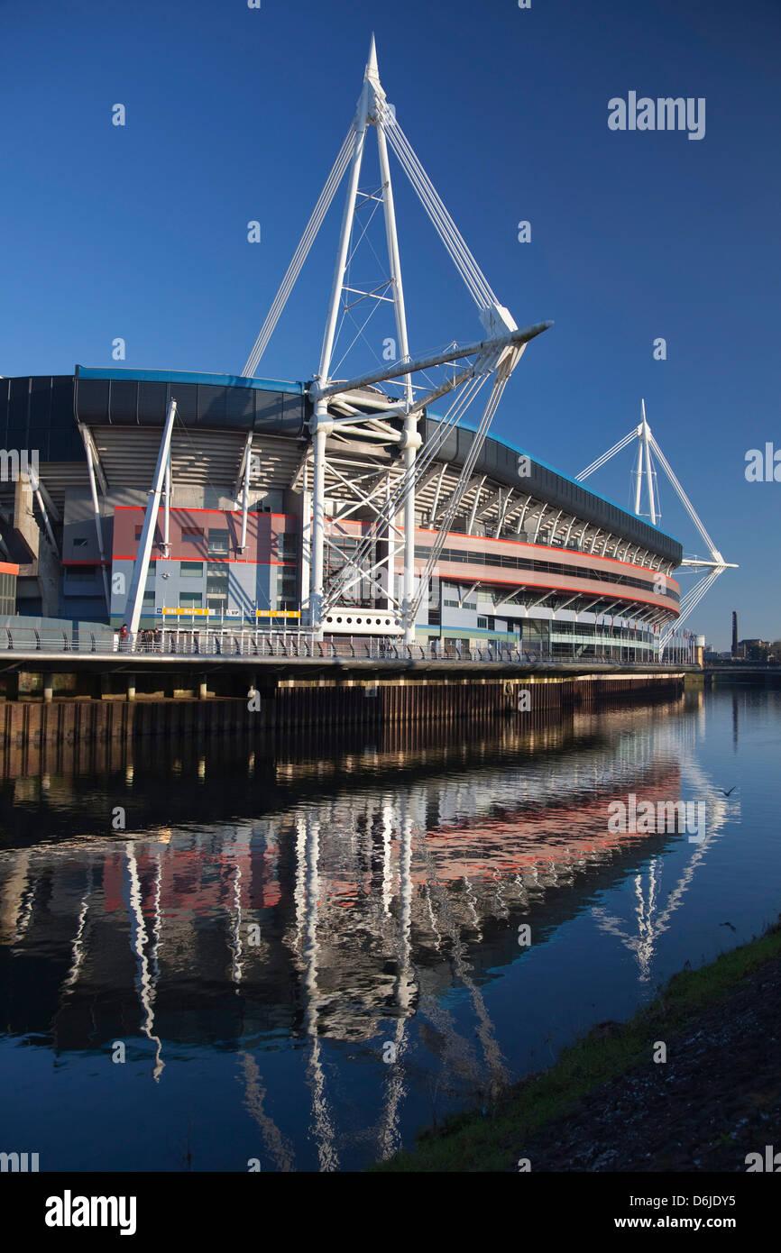 Millennium Stadium, Cardiff, Wales, United Kingdom, Europe - Stock Image