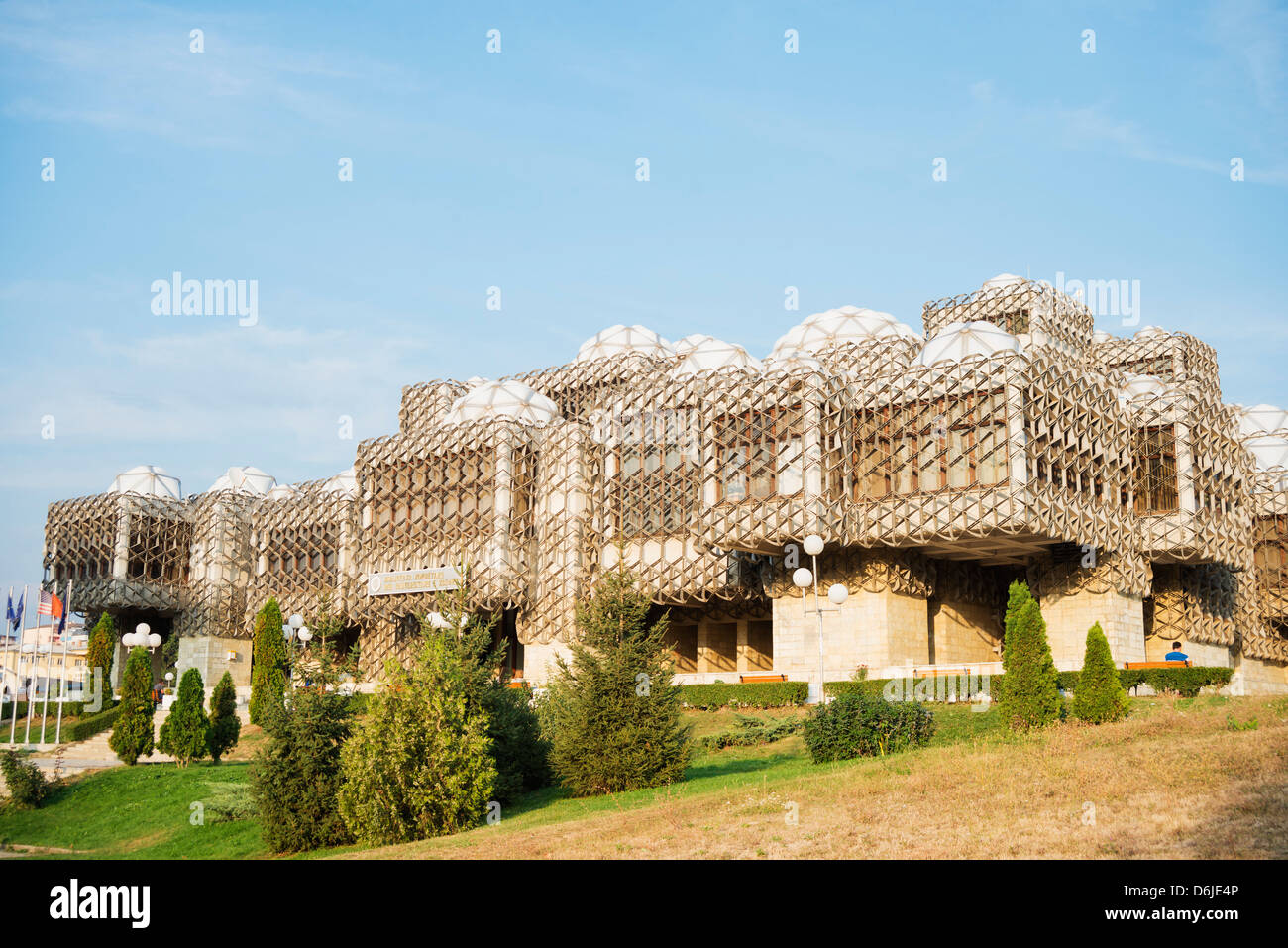National Library, Pristina, Kosovo, Europe - Stock Image