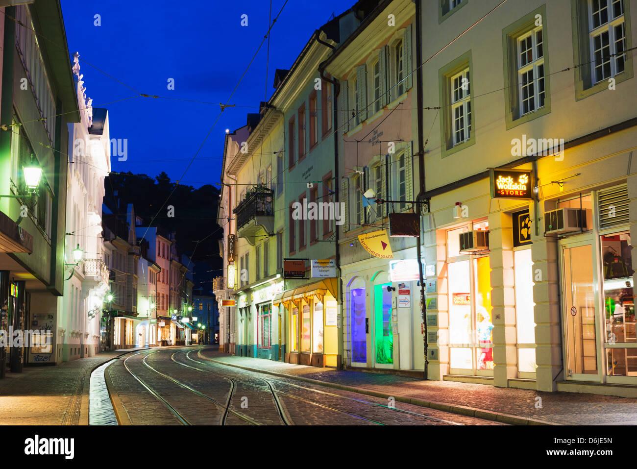 Freiburg, Baden-Wurttemberg, Germany, Europe - Stock Image