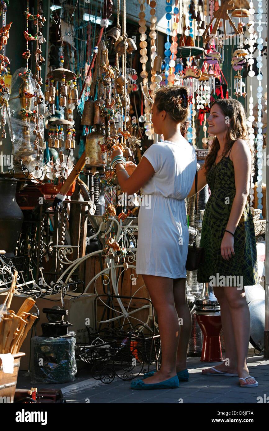 The flea market in Jaffa, Tel Aviv, Israel, Middle East - Stock Image