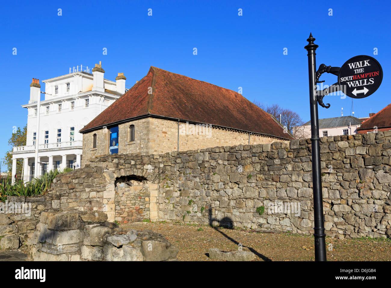 The Wool House, Southampton, Hampshire, England, United Kingdom, Europe - Stock Image