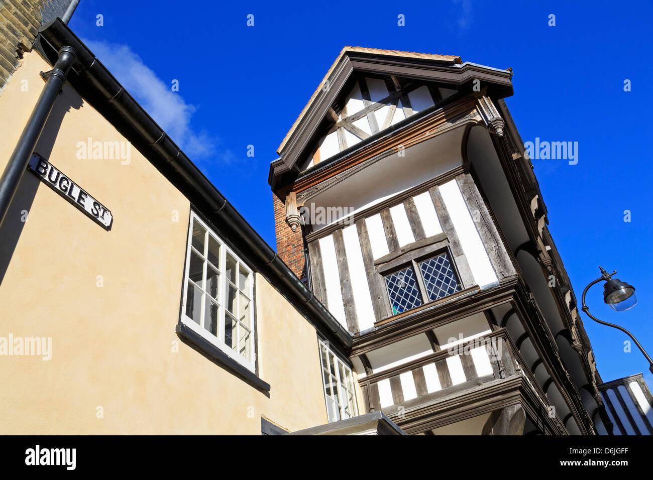 Tudor House Museum, Southampton, Hampshire, England, United Kingdom, Europe - Stock Image