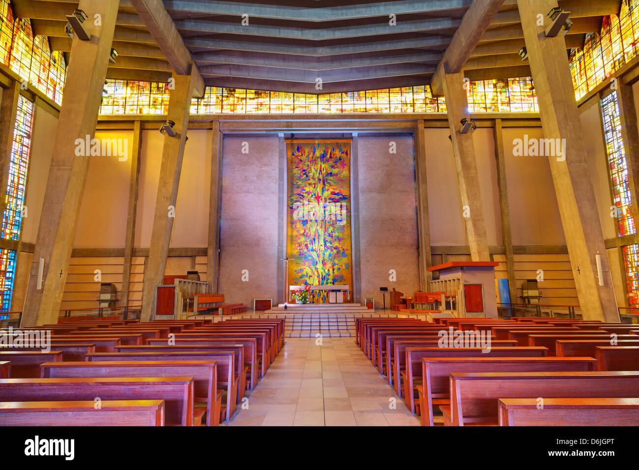 Saint Michel du Havre Church, Le Havre, Normandy, France, Europe - Stock Image