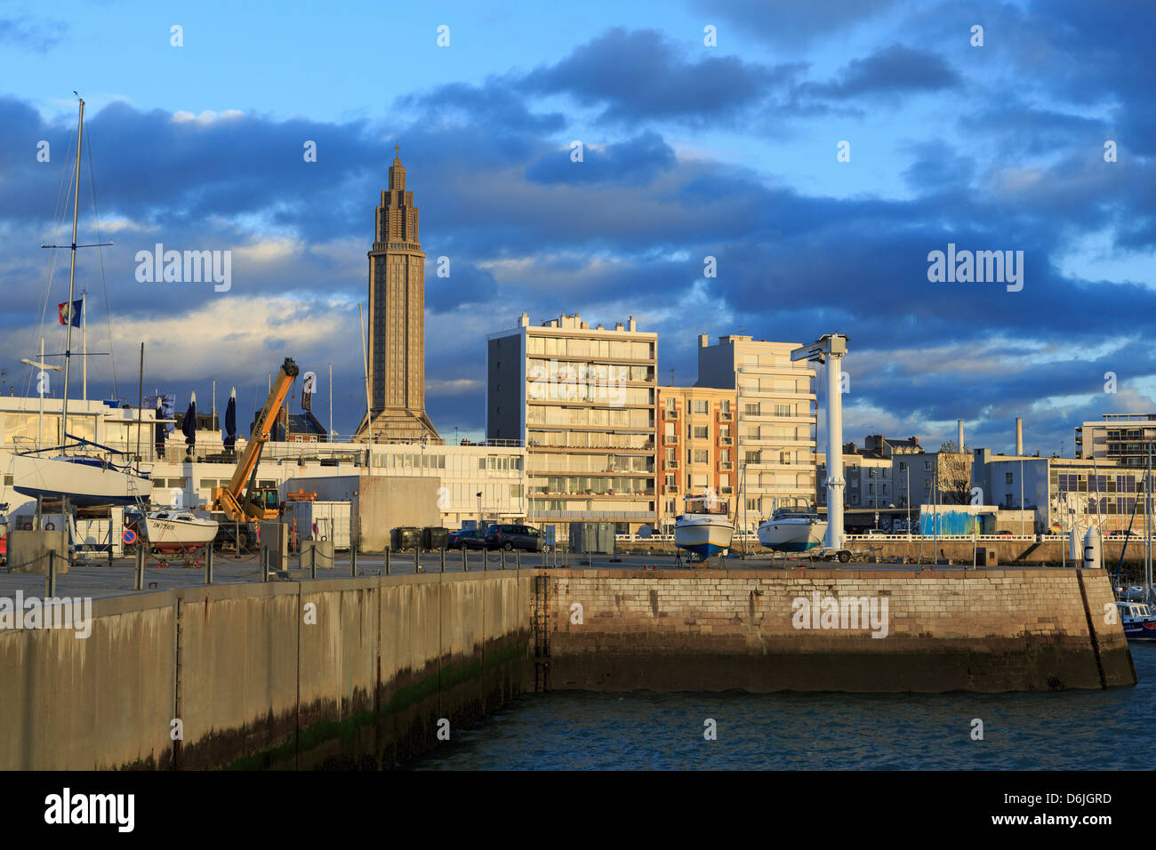 Yacht Marina in Le Havre, Normandy, France, Europe - Stock Image