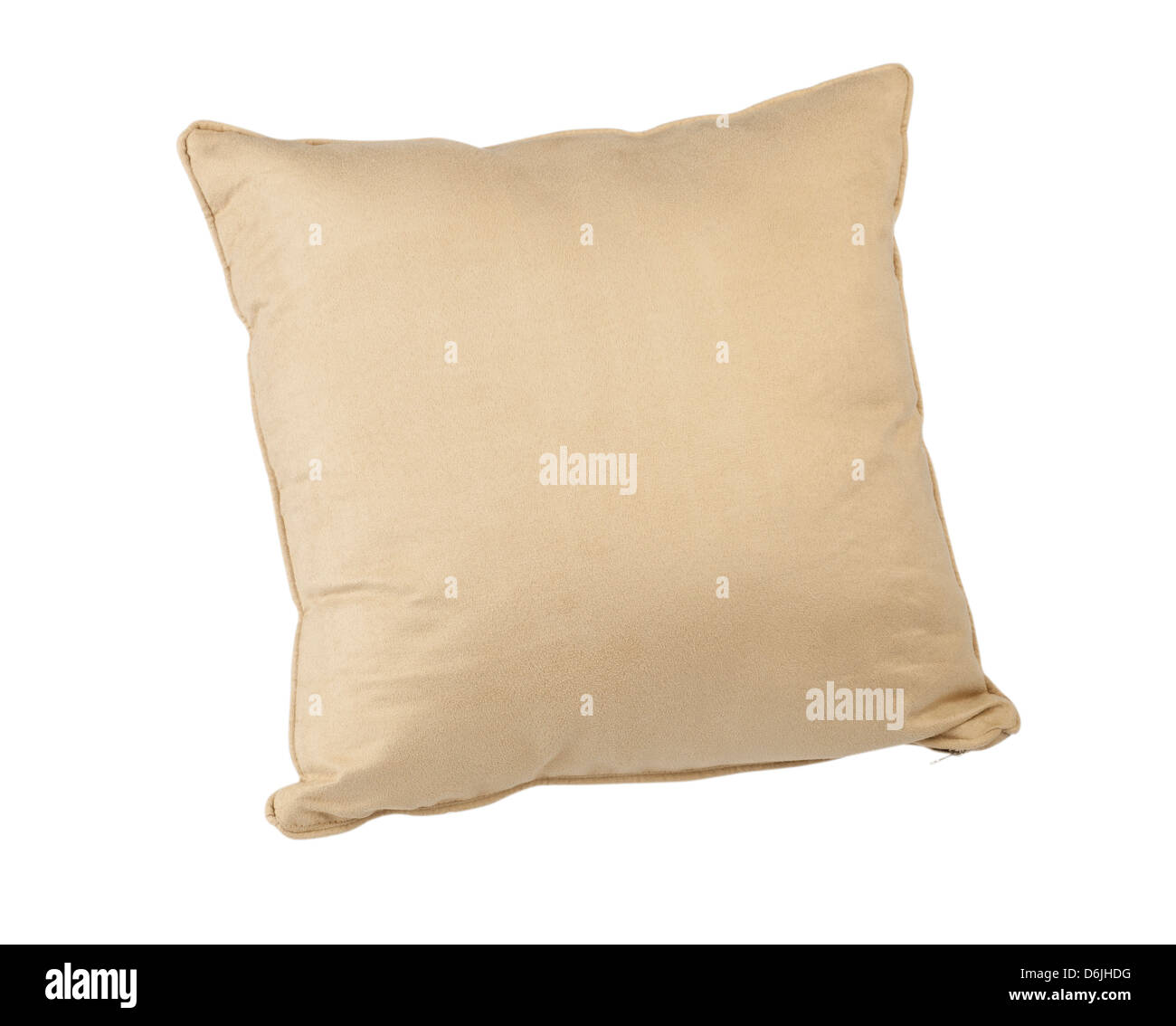beige color cushion for relax time - Stock Image