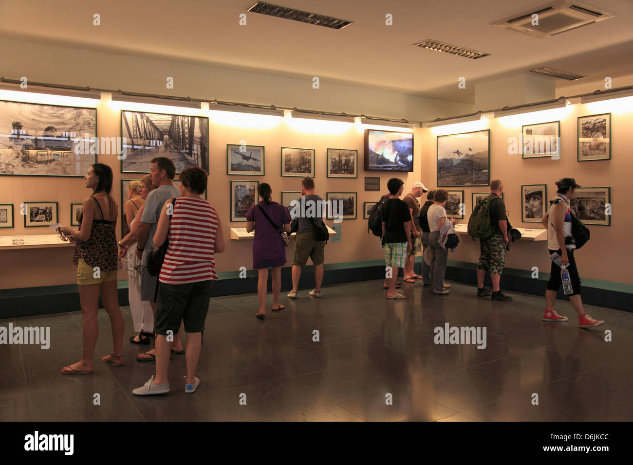 Requiem Exhibit, War Remnants Museum, Ho Chi Minh City (Saigon), Vietnam, Indochina, Southeast Asia, Asia - Stock Image