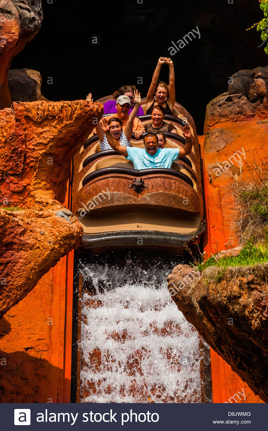 Splash Mountain Ride Frontierland Magic Kingdom Walt Disney World