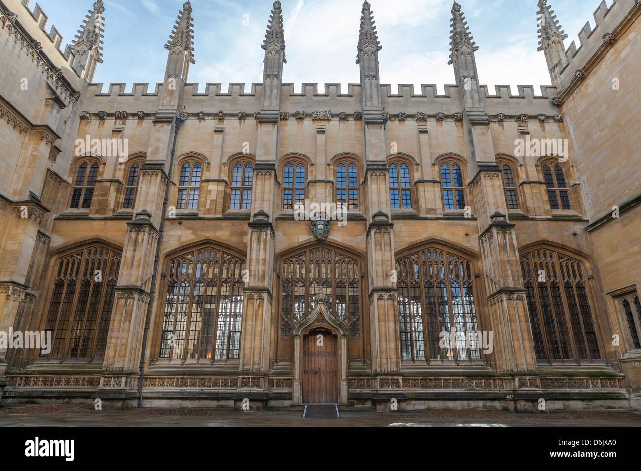 The Bodleian Library, Oxford, Oxfordshire, England, United Kingdom, Europe - Stock Image