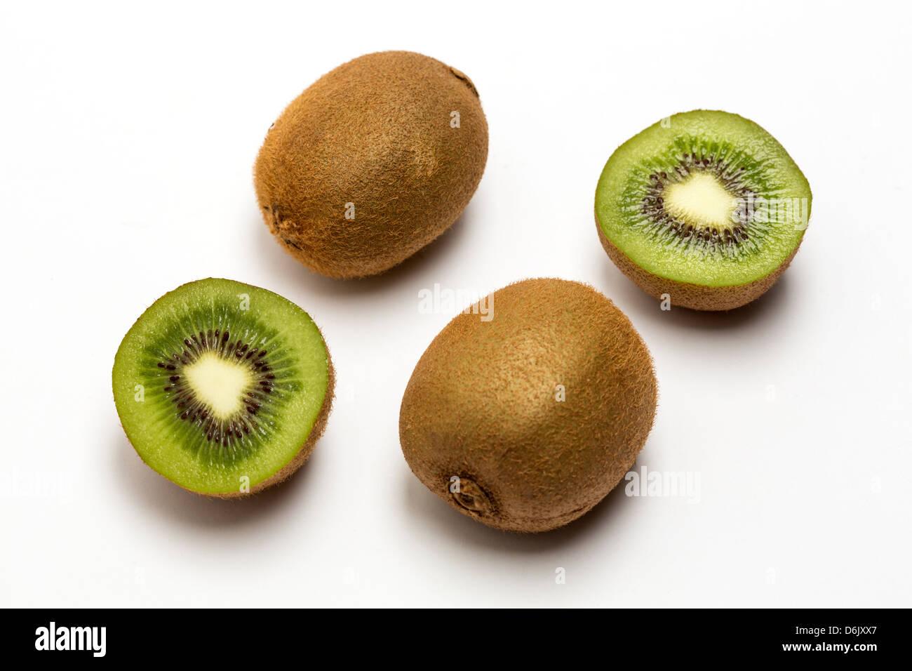 Fresh Kiwi fruit - Stock Image