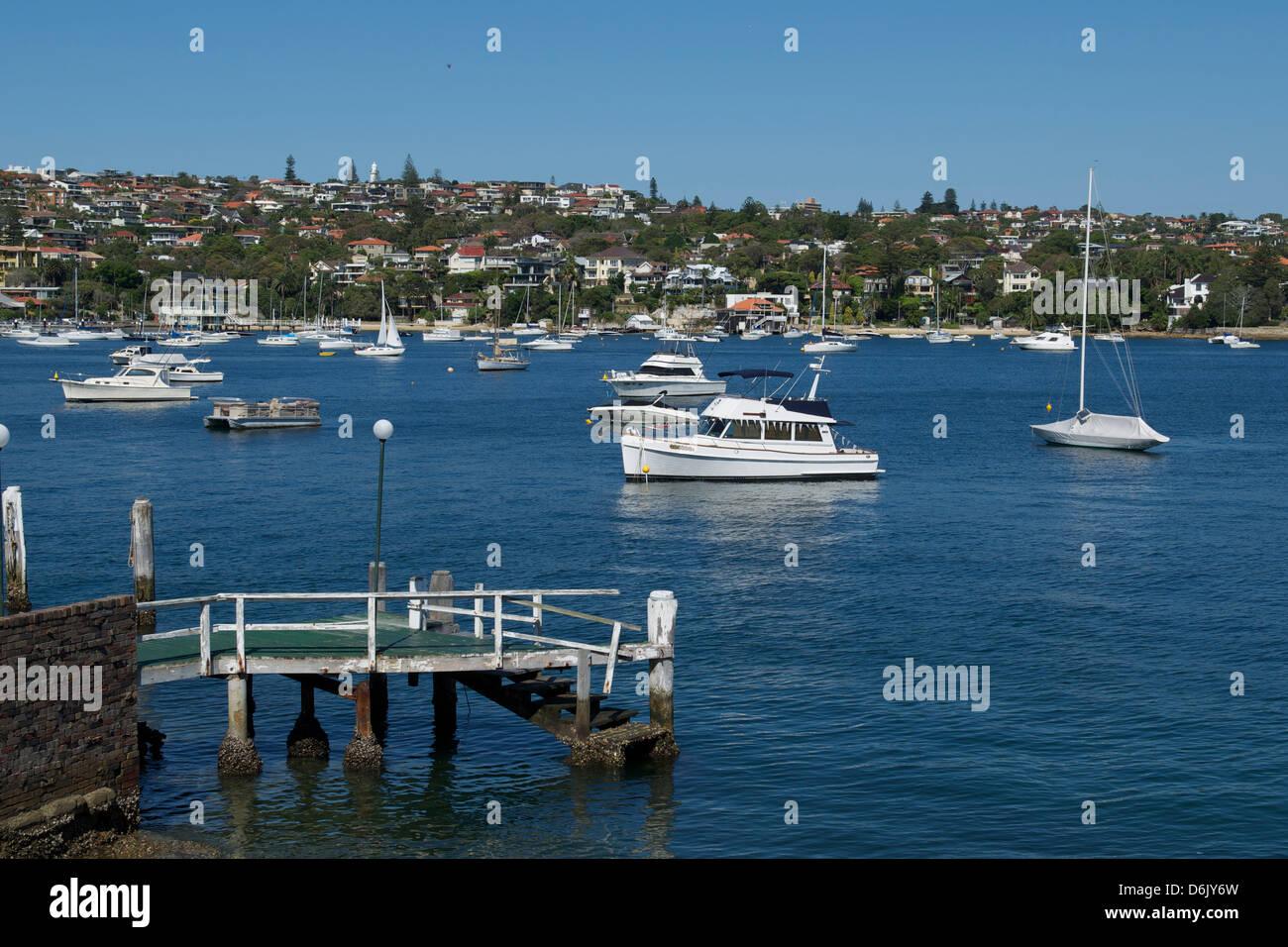 Watson's Bay Sydney Harbour Australia - Stock Image