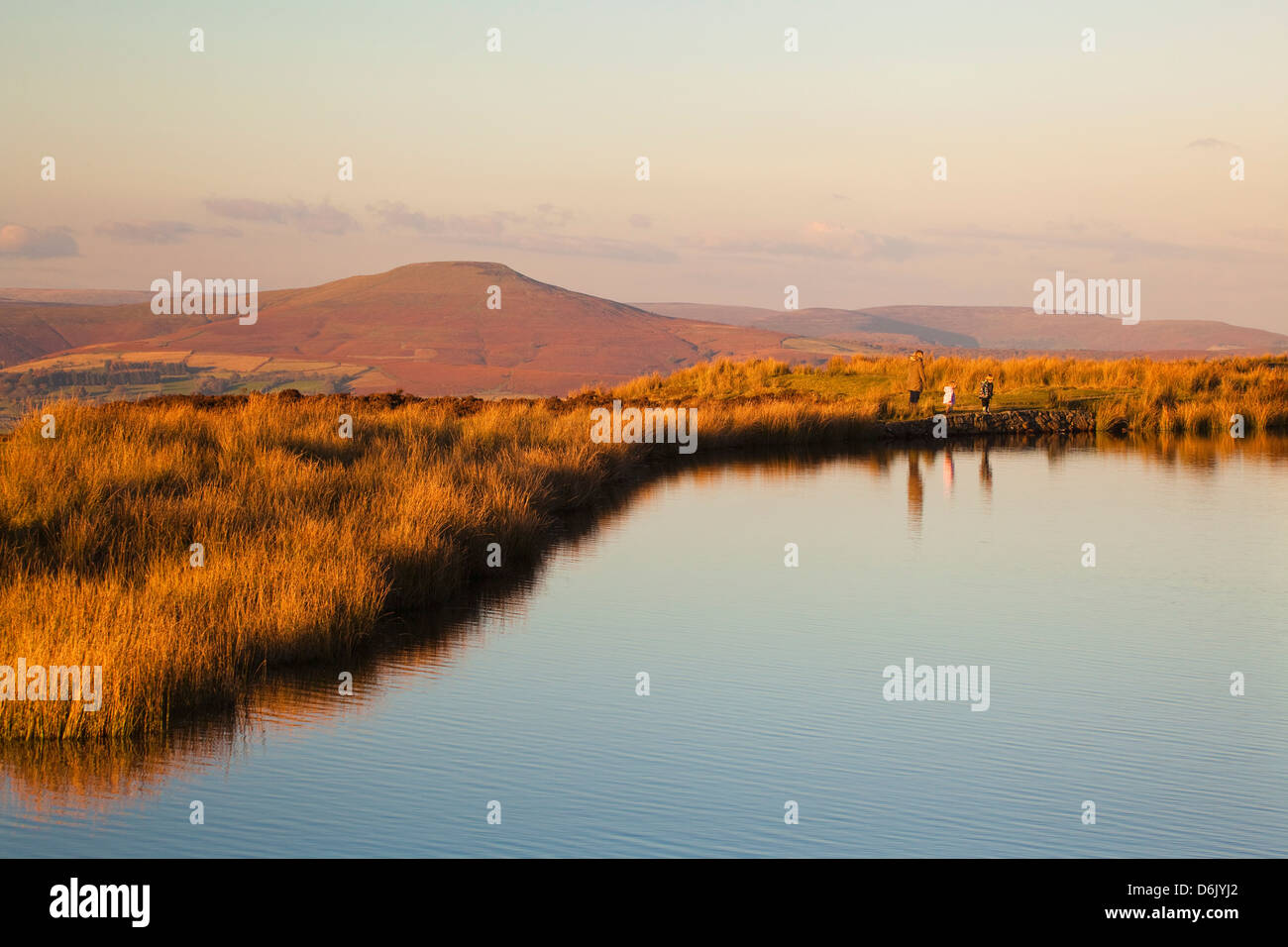 Keepers Pond, Blorenge, Sugar loaf Mountain, Brecon Beacons, Wales, U.K. - Stock Image