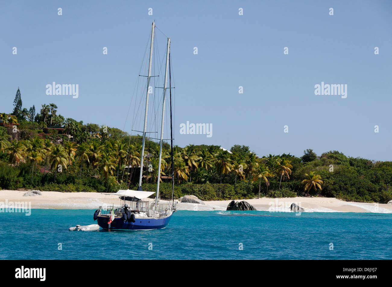 The Baths, Virgin Gorda, British Virgin Islands, West Indies, Caribbean - Stock Image