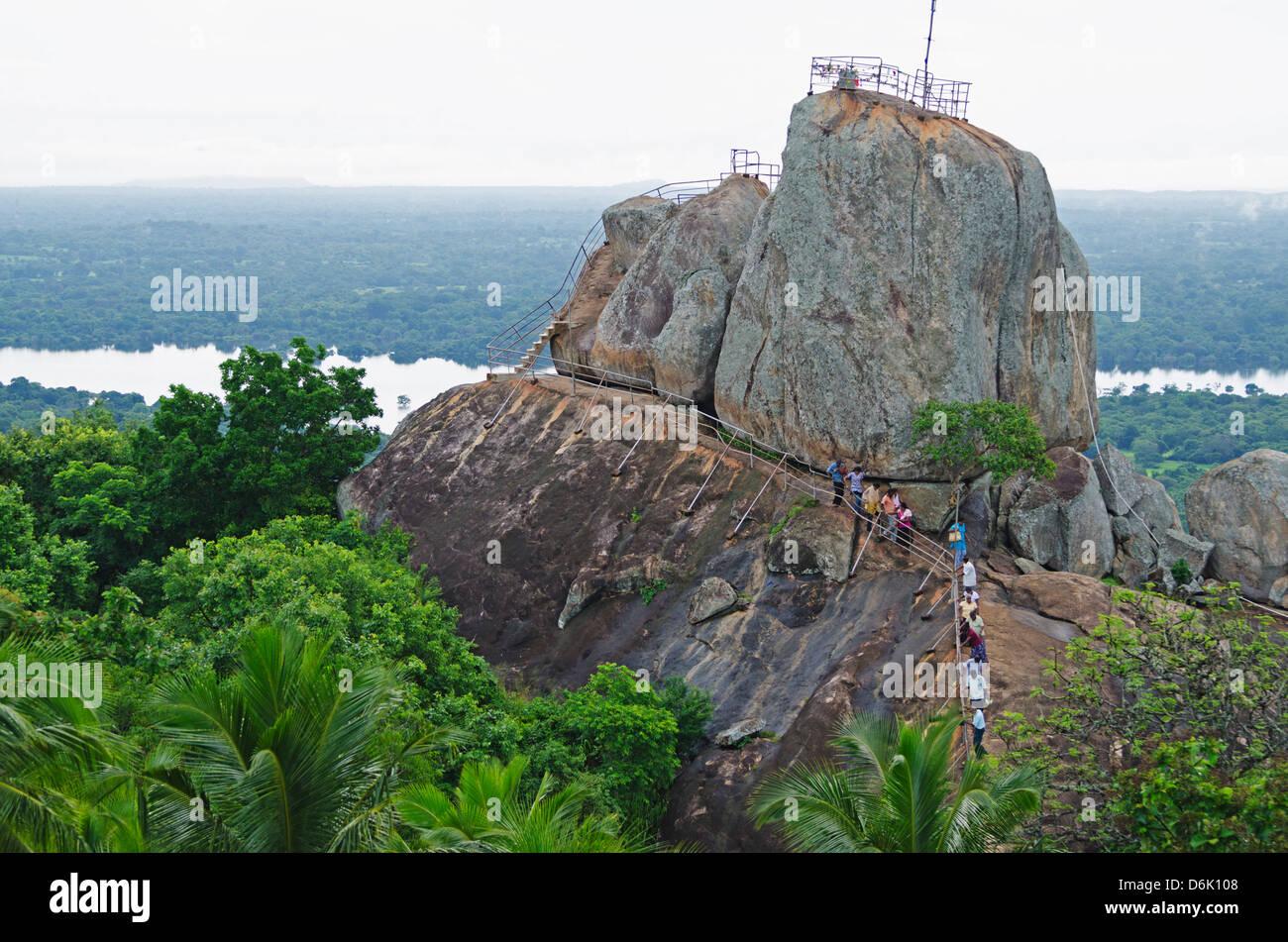 Mihintale, Sri Lanka, Asia - Stock Image