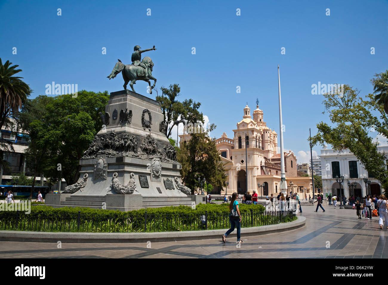 Plaza San Martin, Cordoba City, Cordoba Province, Argentina, South America, South America Stock Photo