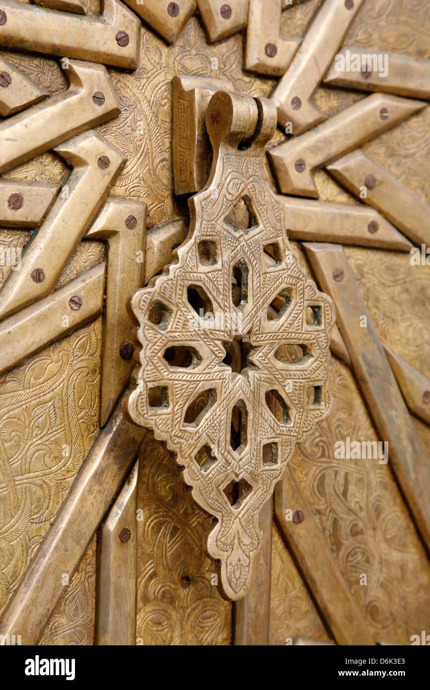 Door detail at Old Jaffa, Tel Aviv, Israel, Middle East - Stock Image