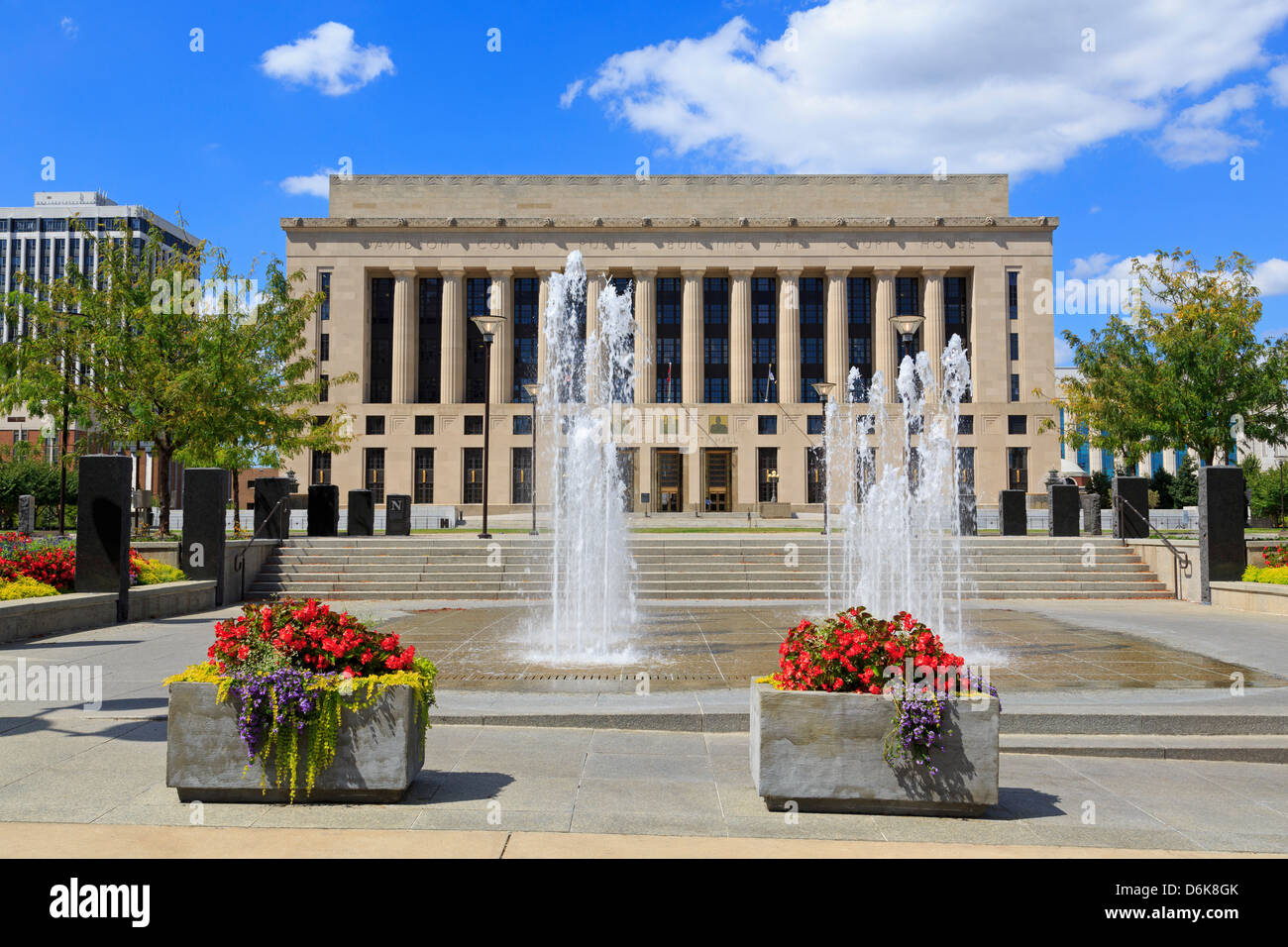 Metro Courthouse Public Square, Nashville, Tennessee, United States of America, North America - Stock Image