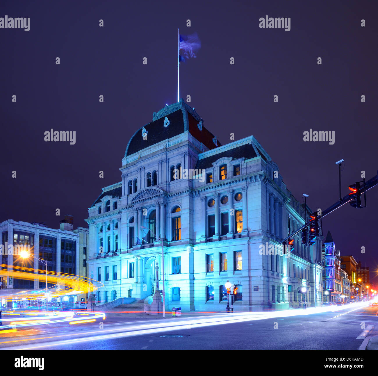 Providence City Hall - Stock Image