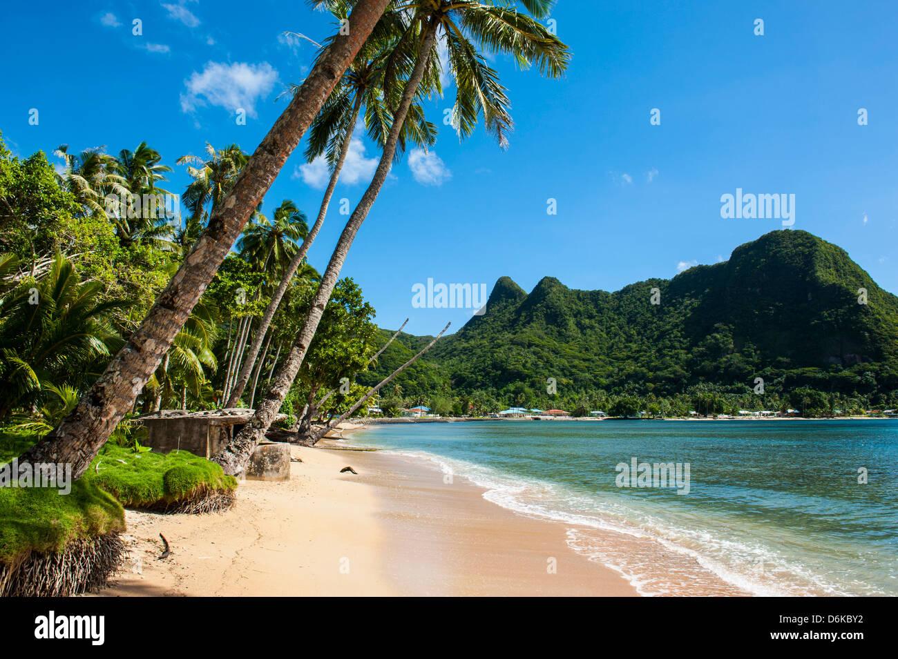 National Park of American Samoa, Tutuila Island, American Samoa, South Pacific, Pacific - Stock Image