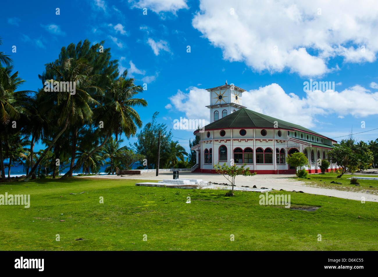Tau Island, Manua Island group, American Samoa, South Pacific, Pacific - Stock Image