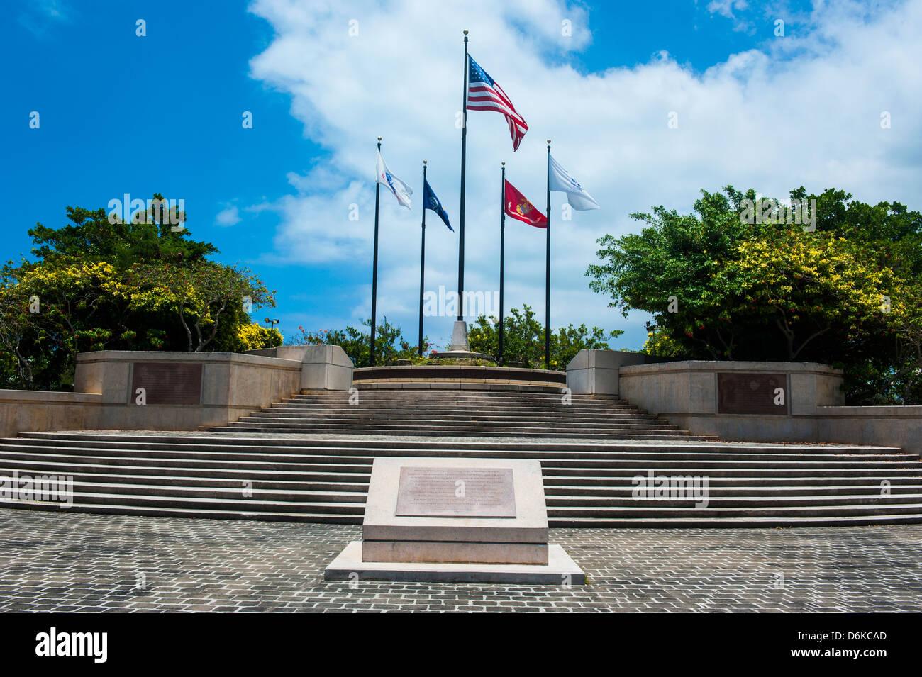 American Memorial Park, Saipan, Northern Marianas, Central Pacific, Pacific - Stock Image