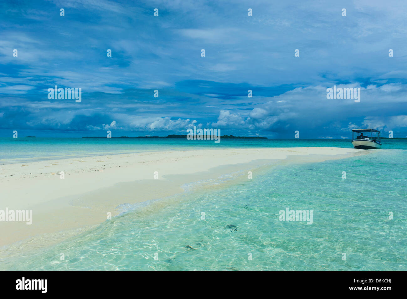 Rock island, Palau, Central Pacific, Pacific - Stock Image