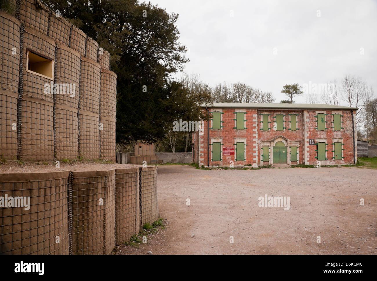 Imber Court, Imber, Salisbury Plain, Wiltshire - Stock Image