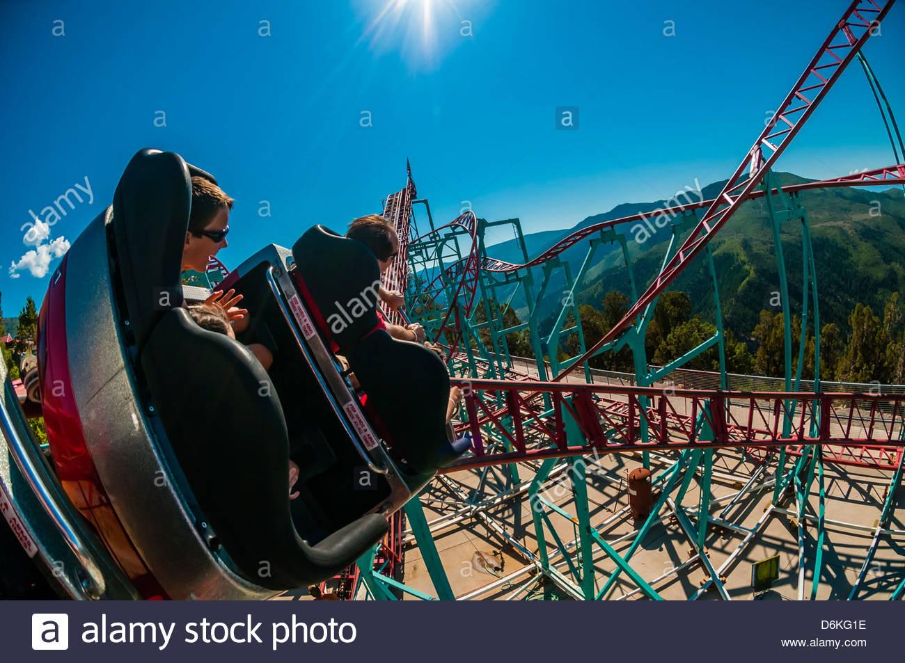 Cliffhanger Roller Coaster Glenwood Caverns Adventure Park