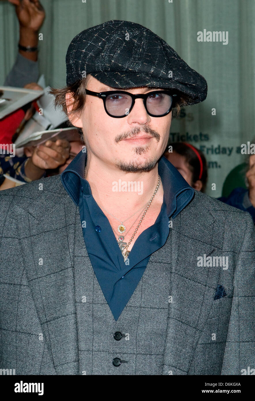 Johnny Depp Playboy hosts the New York premiere of  The Rum Diary  at the  Museum of Modern Art - Outside Arrivals New York 4b019f1d9f5