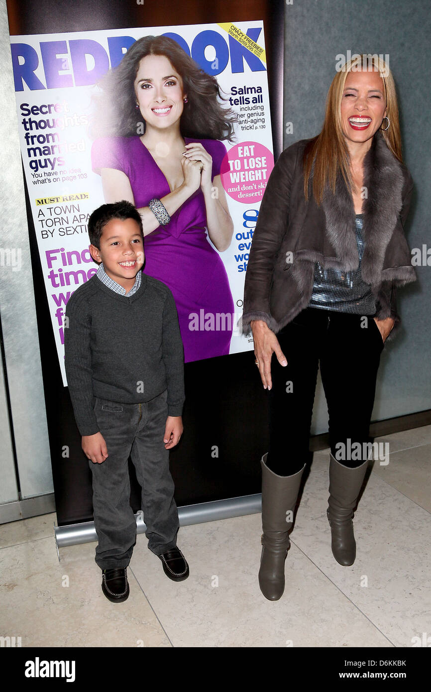 Michael Michele and son J  Brandon Redbook's special