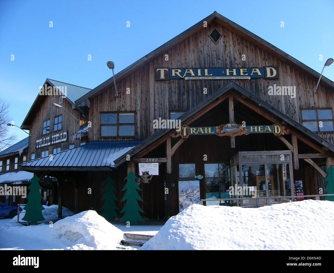 NCF Office Trailhead 05. Stock Photo