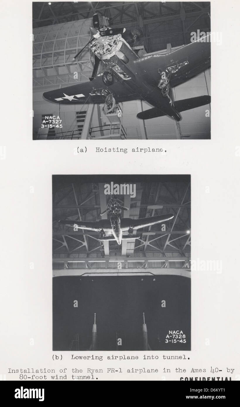 04-01590 Ryan FR-1 Fireball c. 1945 - Stock Image