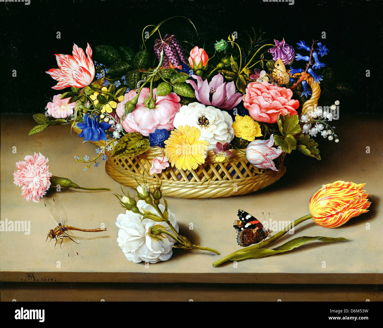 Ambrosius Stock Photos Images Alamy Diagram Of Rose Flower Crosssection Drawing Illustration Getty Bosschaerts The Elder Still Life 1614 Oil On Copper J