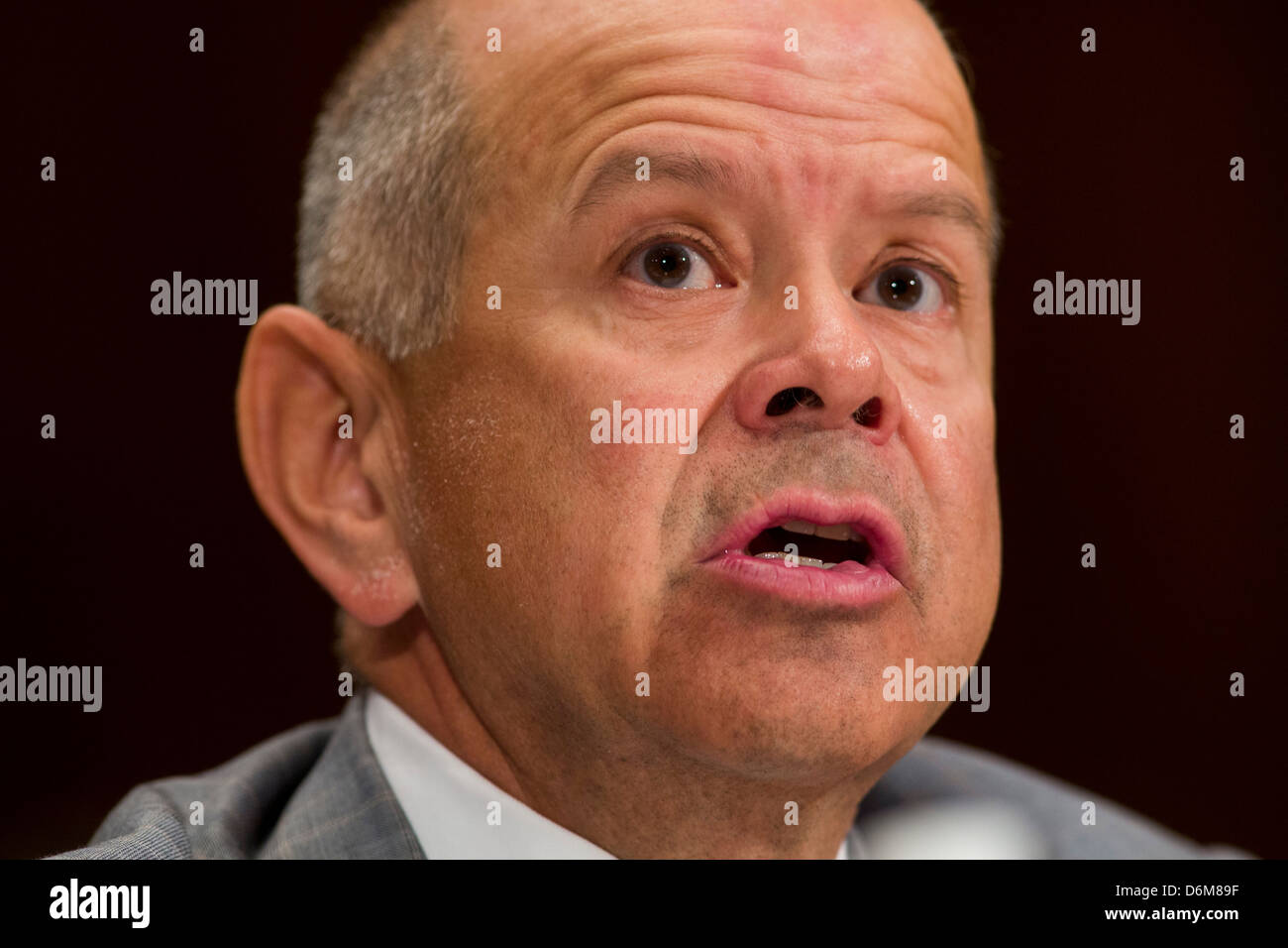 Michael Huerta, administrator of the Federal Aviation Administration (FAA). - Stock Image
