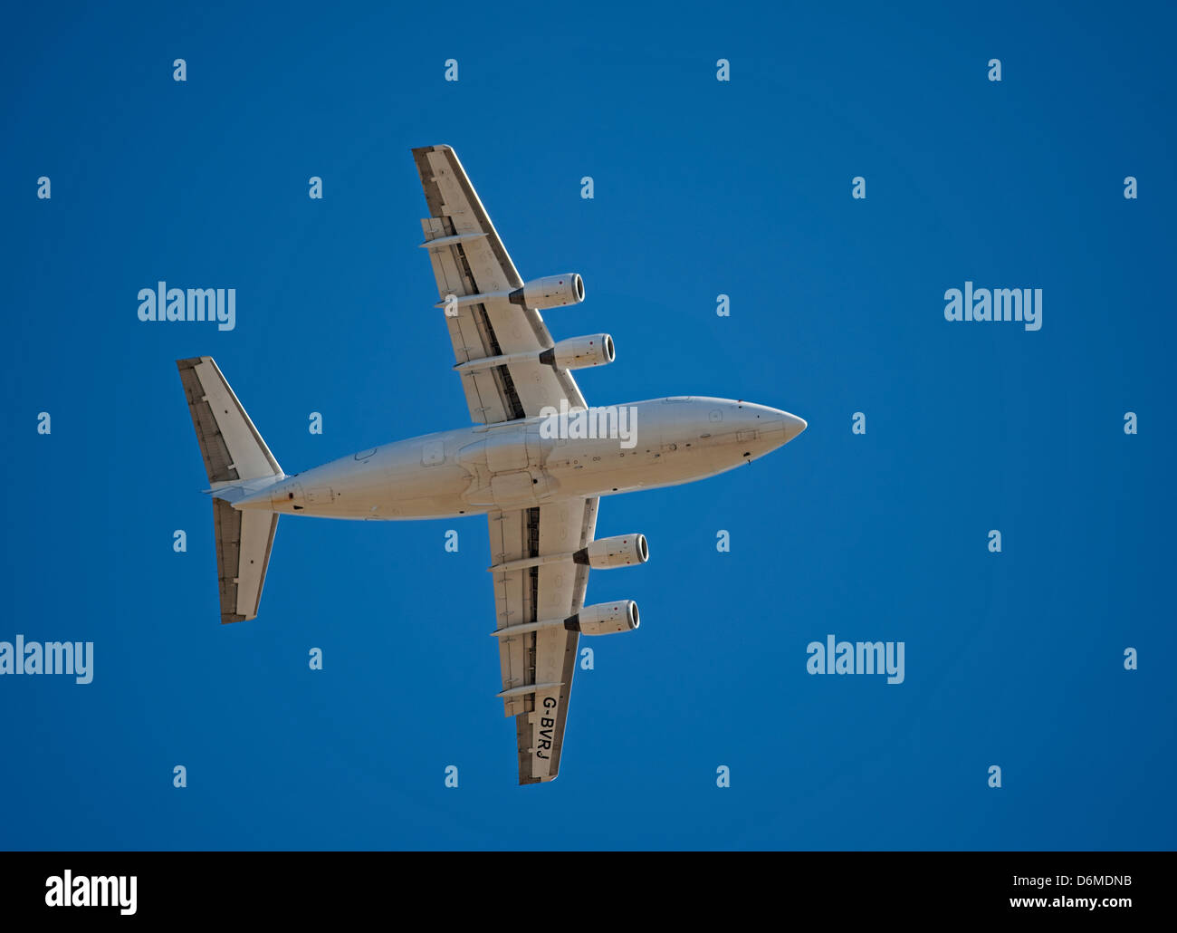 G-BVRJ QinetiQ British Aerospace Avro RJ70.  SCO 8999 - Stock Image