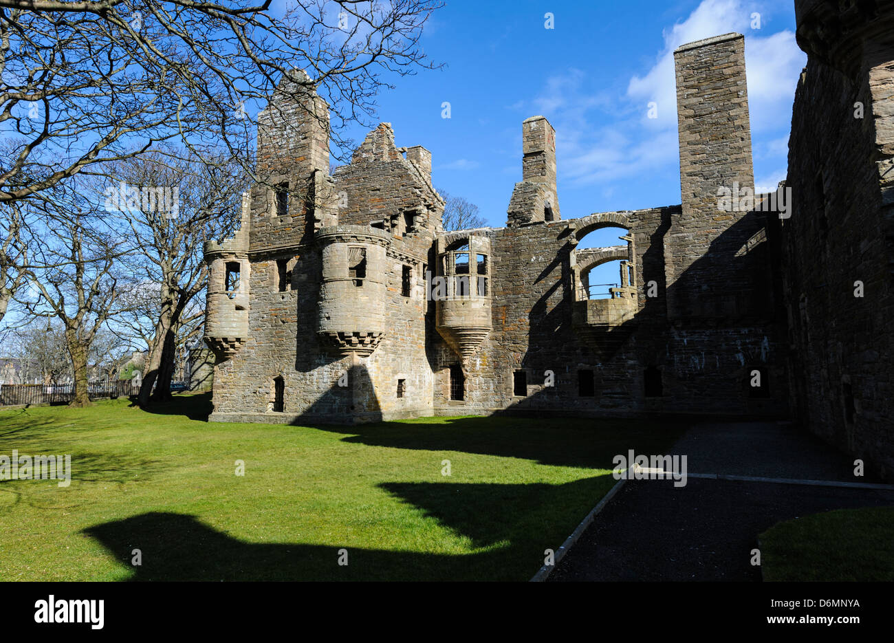 The Earl's Palace, Kirkwall Orkney Scotland - Stock Image