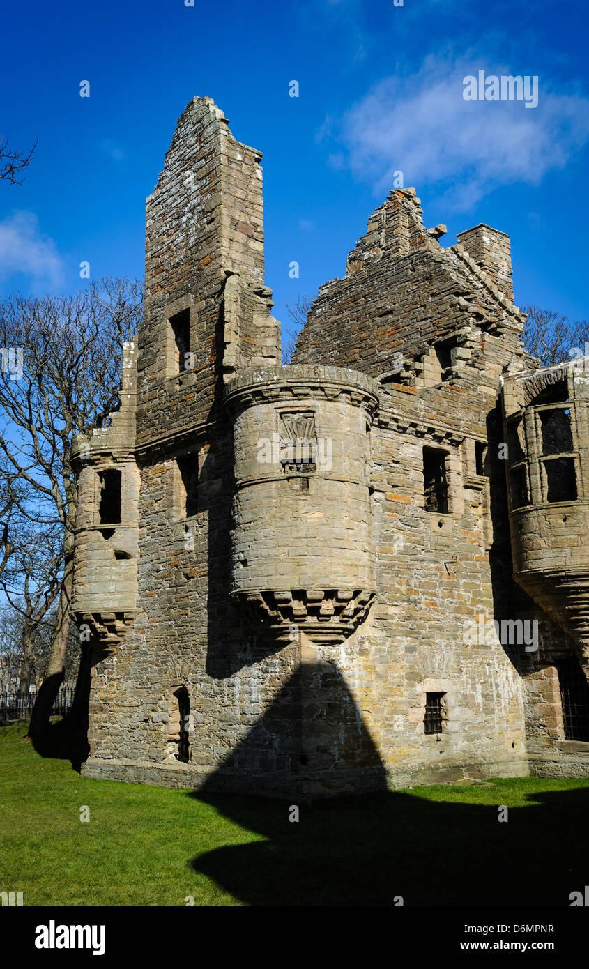 The Earl's Palace, Kirkwall - Stock Image