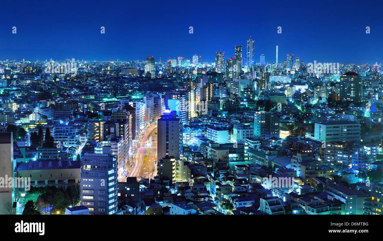 Tokyo, Japan panorama at Bunkyo Ward. - Stock Image