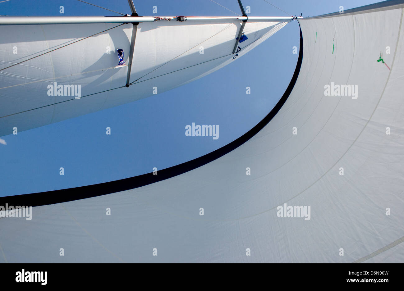 sail,headsail - Stock Image
