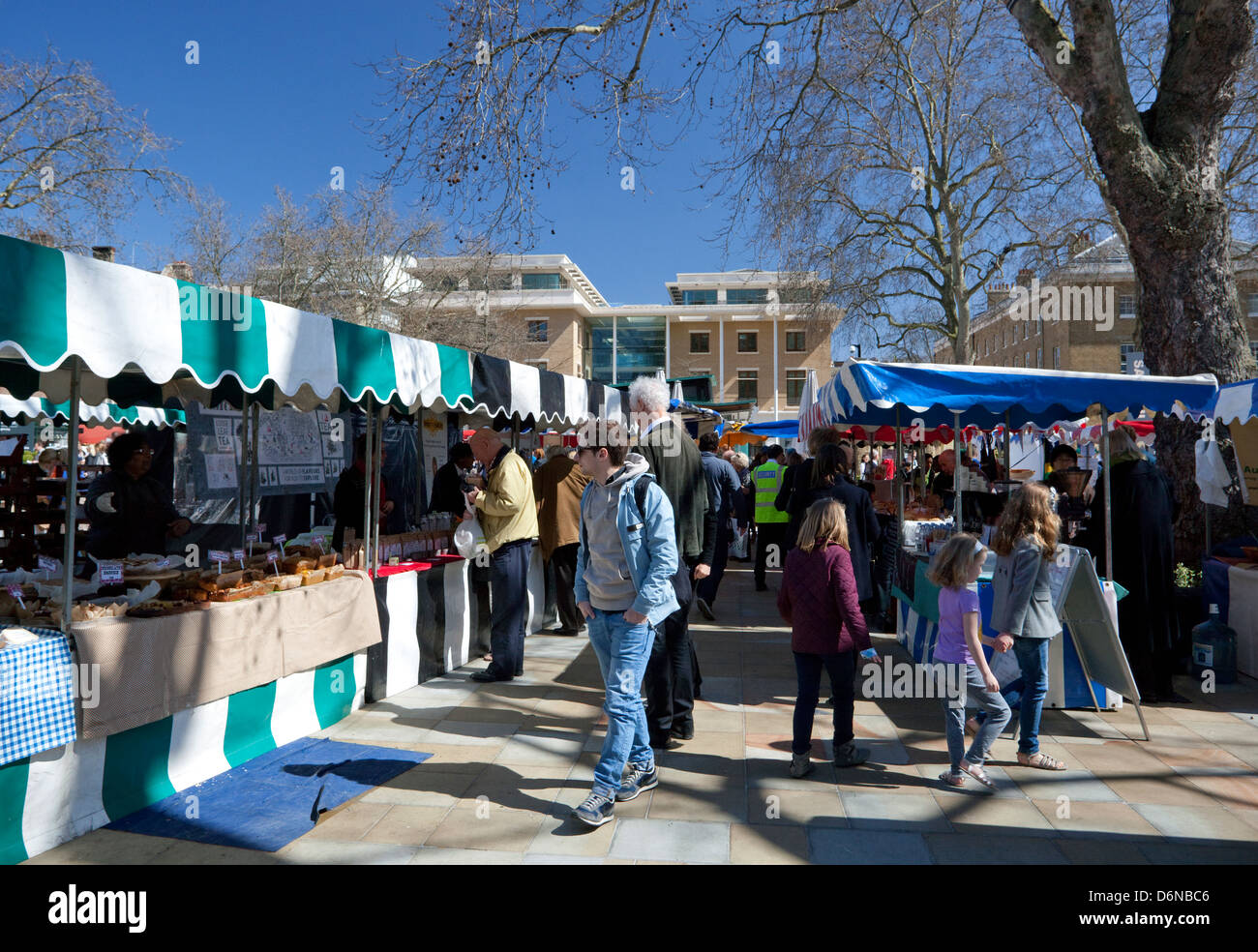 Partridges food market, Duke of York Square, King's Road, Chelsea, London - Stock Image