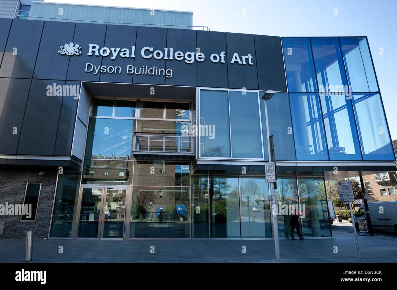Royal College Of Art >> Royal College Of Art Dyson Building Battersea London Stock