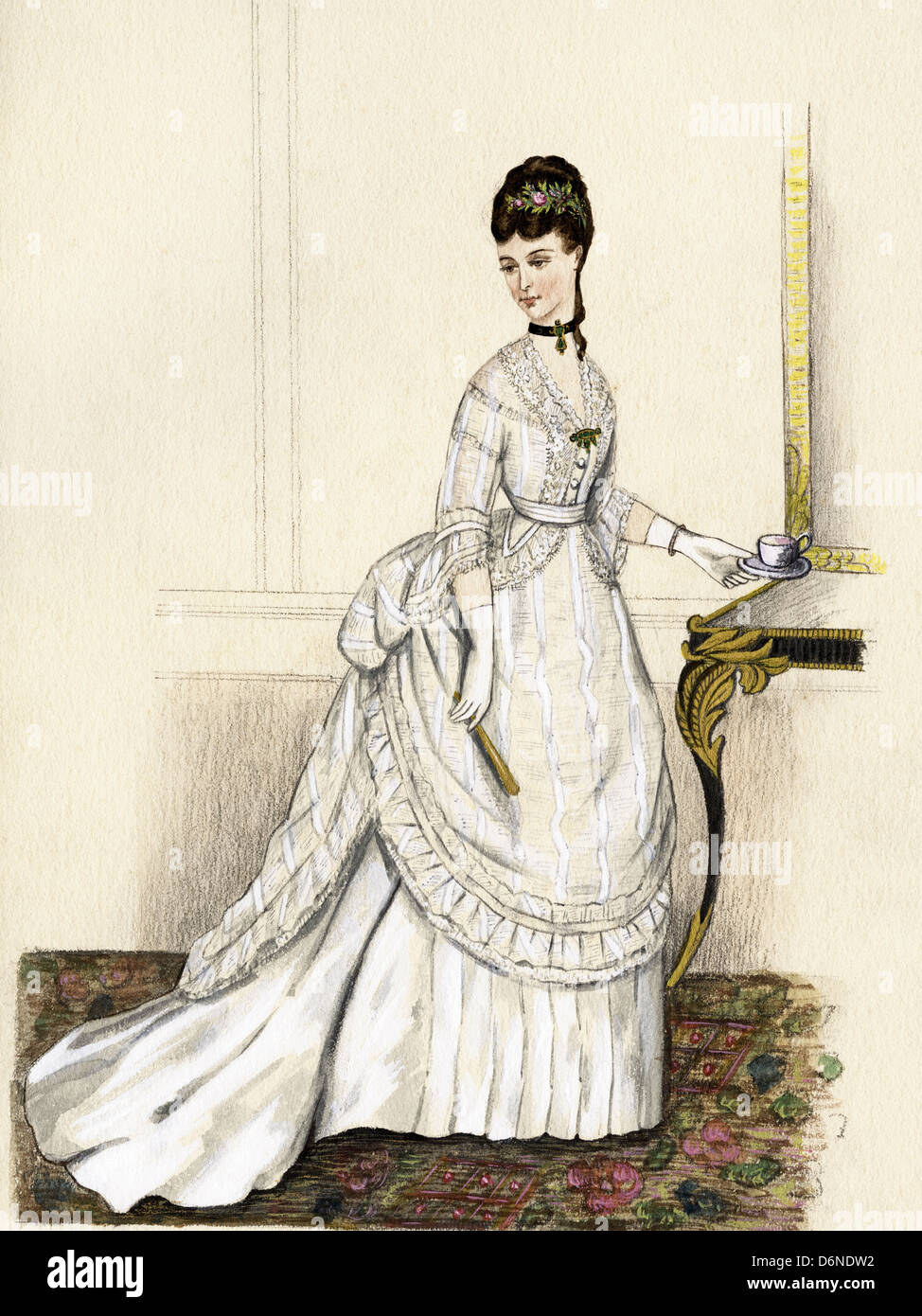 Victorian French Dresses
