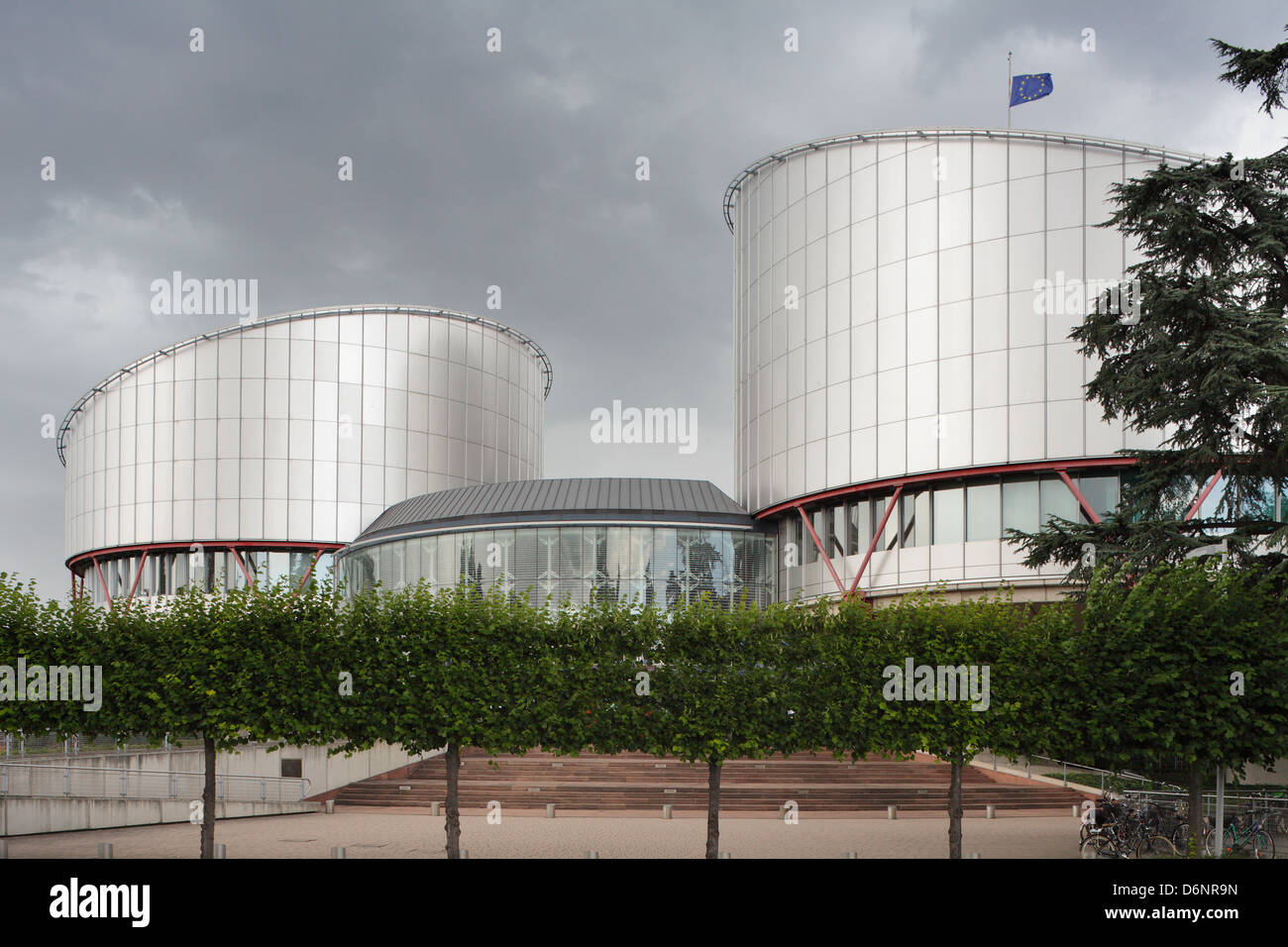 Strasbourg, France, the buildings of the European Court of Human Rights - Stock Image