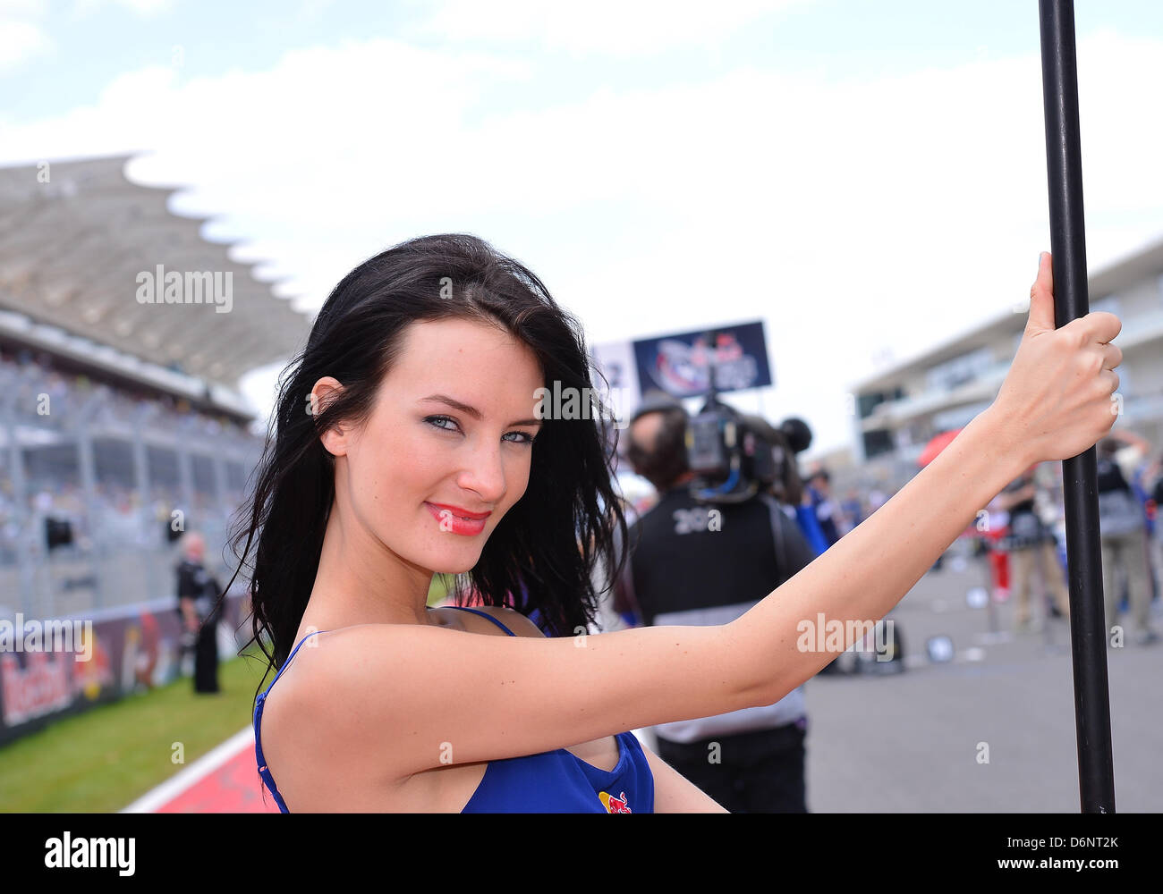 Grid Girls Circuit Americas In Stock Photos & Grid Girls Circuit Americas In Stock Images - Alamy
