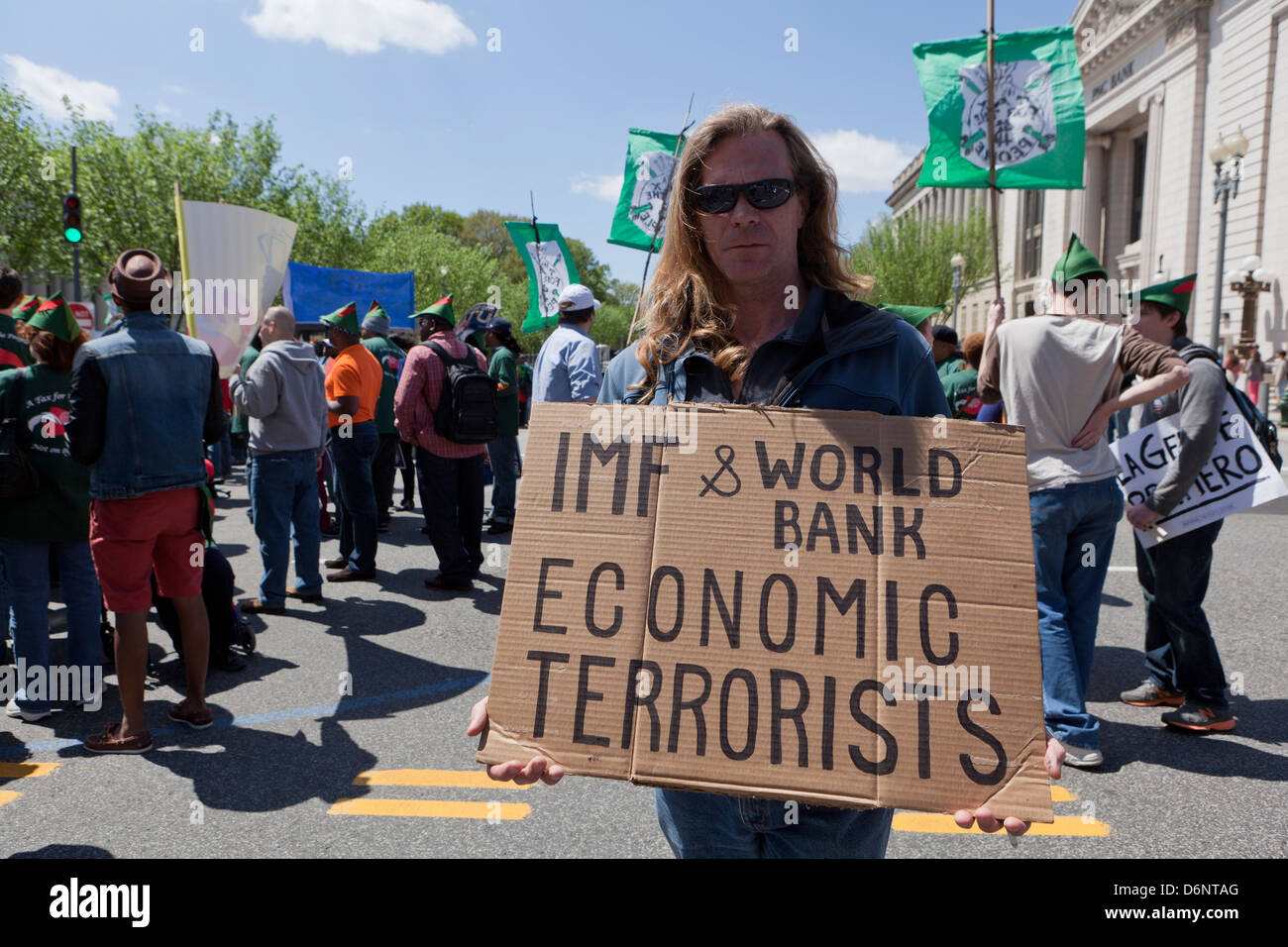 Image result for wikimedia commons  world bank imf protest