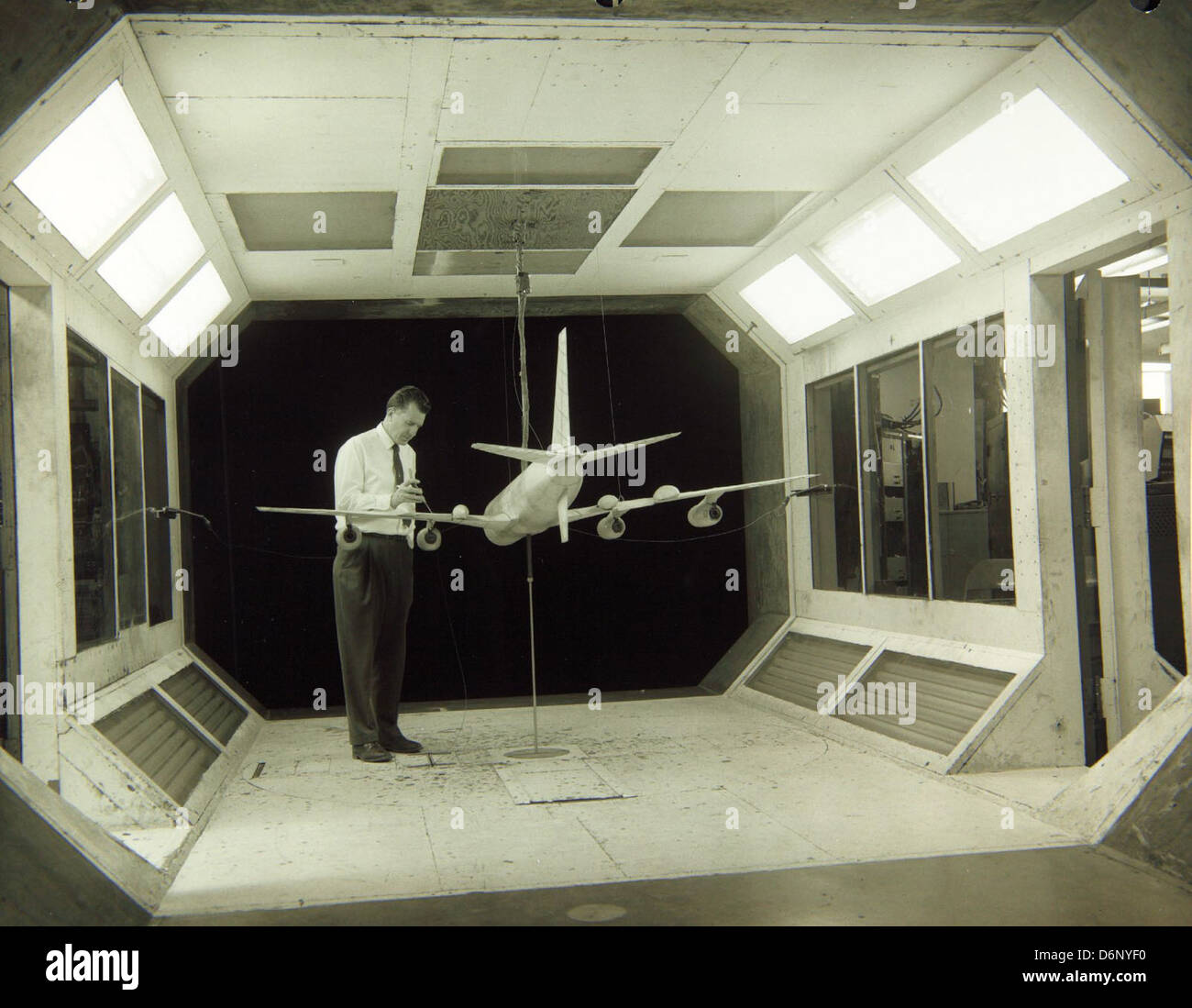 Convair/General Dynamics Wind Tunnel - Stock Image