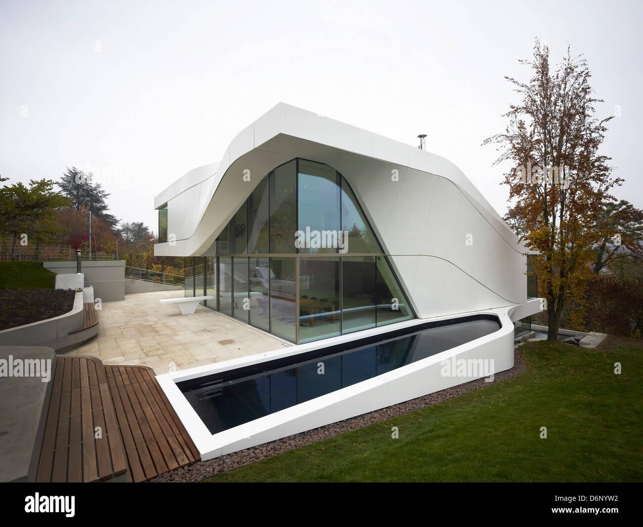 Haus am Weinberg, Stuttgart, Germany. Architect: UN Studio, 2011. Stock Photo