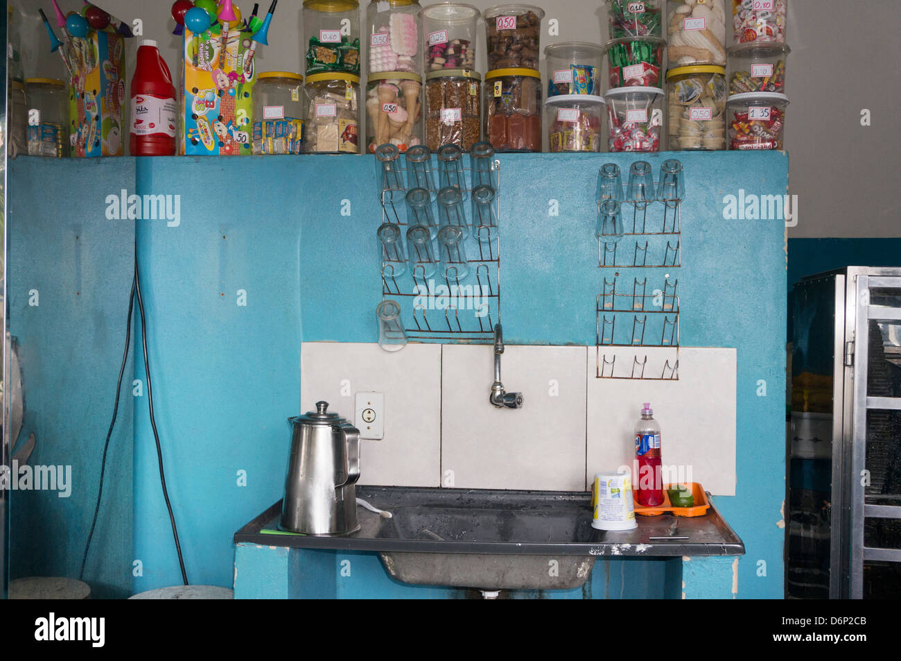 Pequena Lanchonete\' Snack Bar, front Stock Photo: 55803899 - Alamy