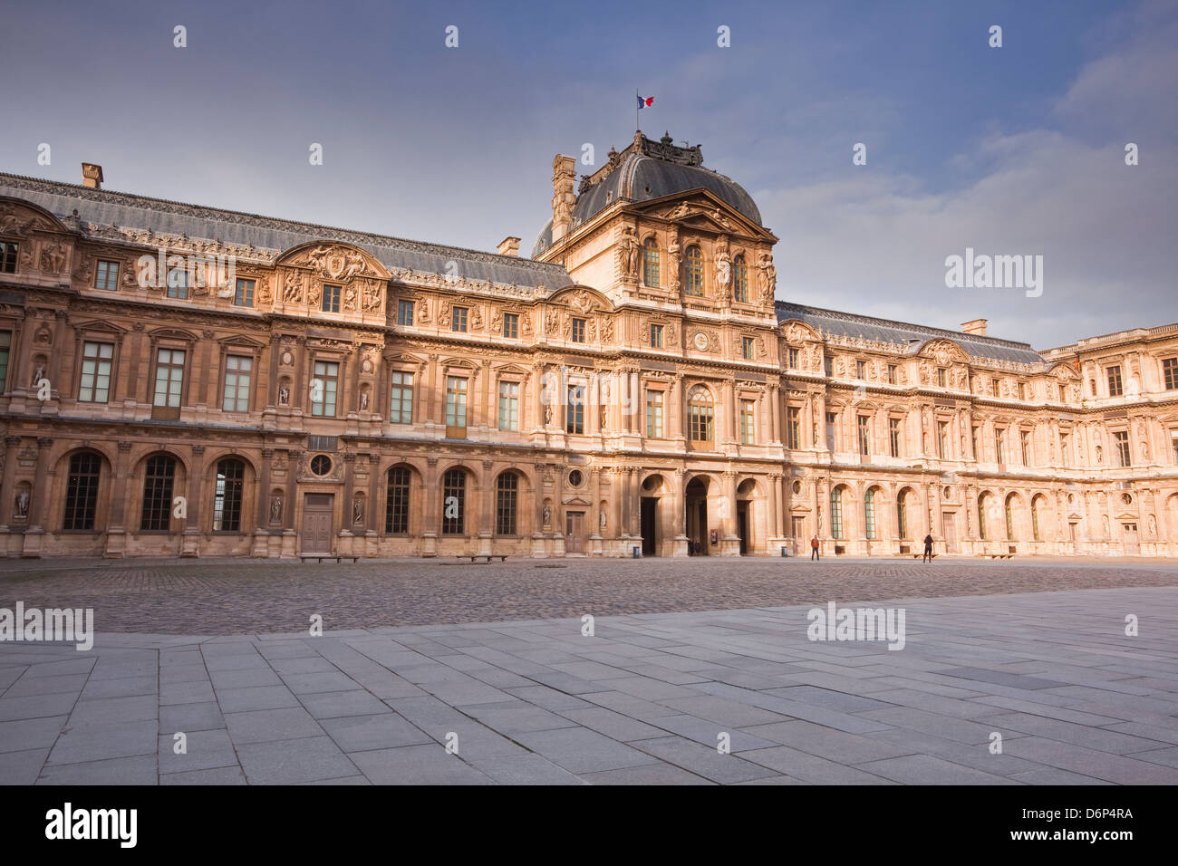 The Musee Louvre in Paris, France, Europe - Stock Image